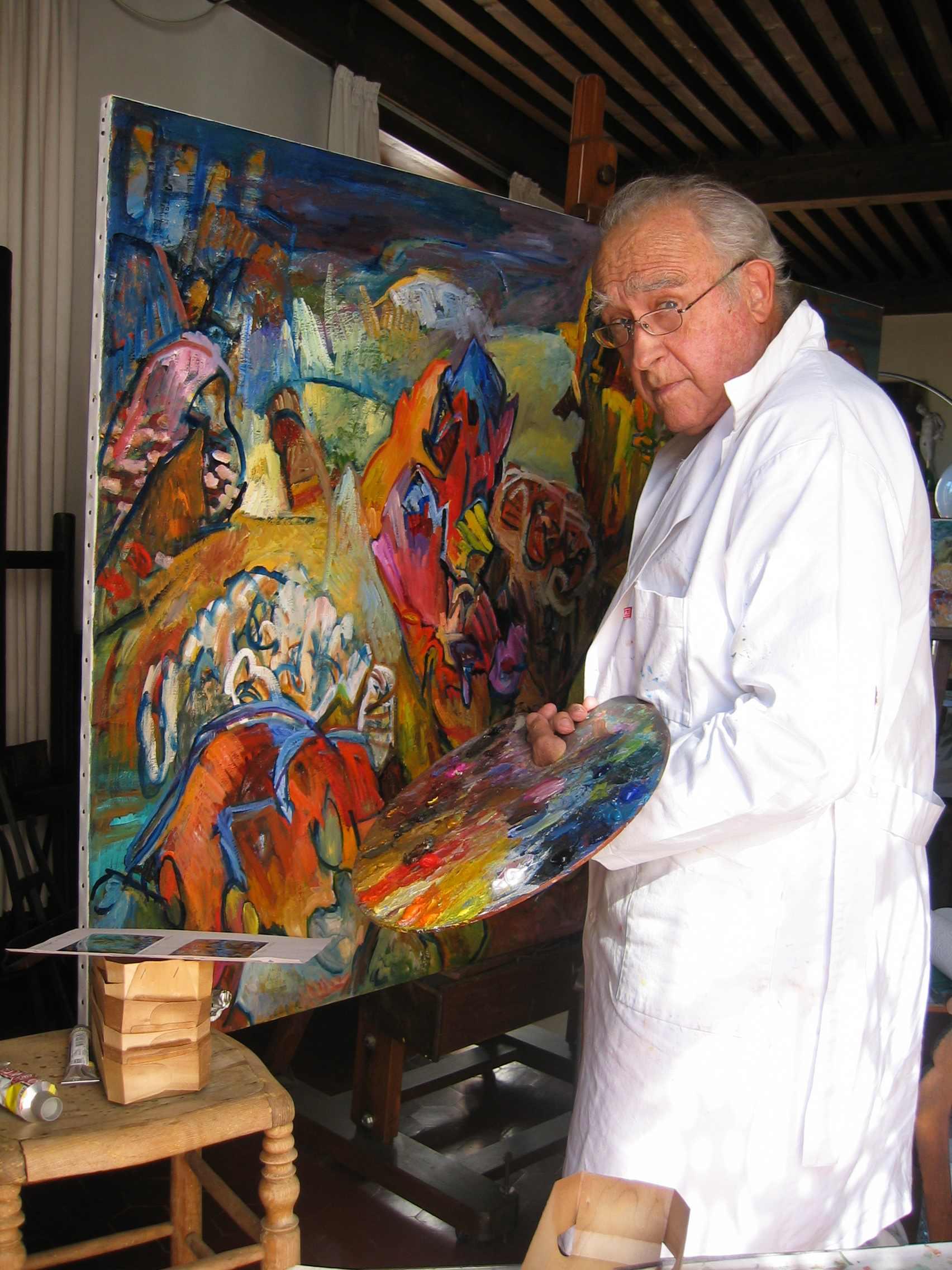 Site Des Artistes Peintres jean dubrusk artiste peintre - nouveau site officiel